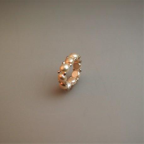 Perl Ring / Süßwasser Zuchtperlring