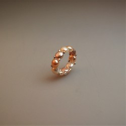 Perl Ring / Süßwasser Zuchtperlring 1