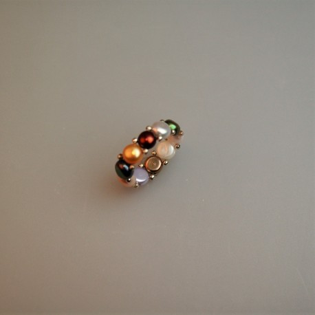 Perl Ring / Süßwasser Zuchtperlring 2