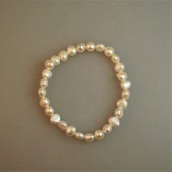 Perlarmband / Süßwasserzuchtperl Armband 2